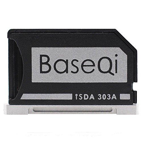 BASEQI Aluminum microSD Adapter for MacBook Pro