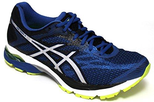 Asics zapatos Running Hombre–Gel Flux 4–t714N-4993–Thunder Blue/Silver/black-40.5