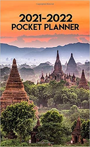 Temple 2021-2022 Calendar Amazon.com: 2021 2022 Pocket Planner: Legendary Myanmar Temples
