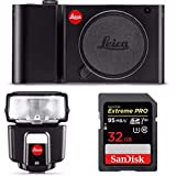 Leica TL Mirrorless Camera Body with Leica TTl SF 40 Flash & Pro 32GB Card