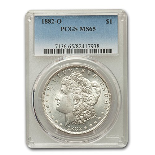 1882 O Morgan Dollar MS-65 PCGS $1 MS-65 PCGS