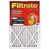 20x20x1, Filtrete Air Filter, MERV 11, by 3m