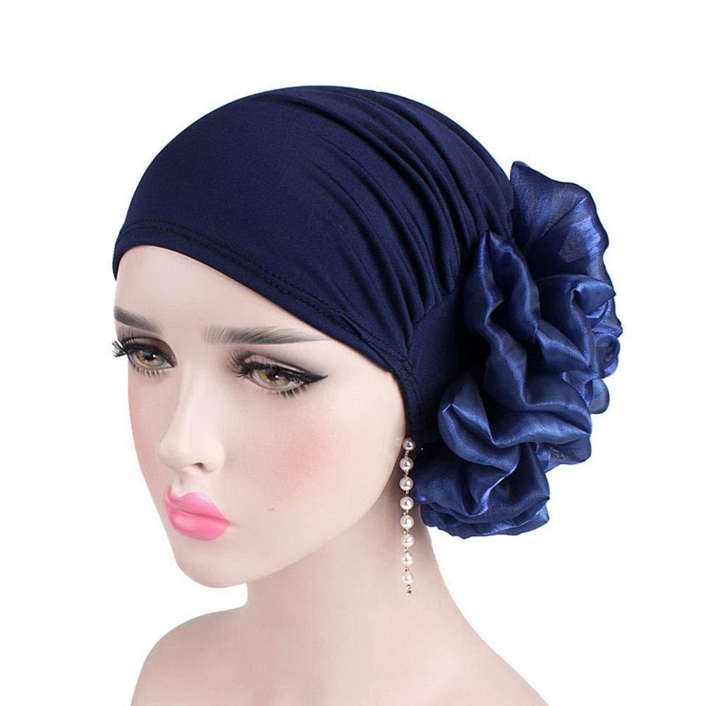 Schlaf Tukistore Frauen muslimische Kopftuch Indische Turban-H/üte Turbanm/ütze Kopfbedeckung Schlafm/ütze f/ür Krebs Haarausfall Damen Pure Farbe Chemo Hut Chemotherapie