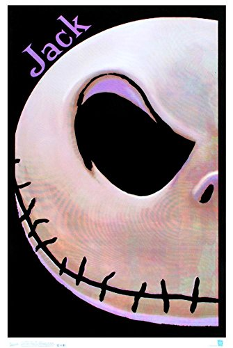 Trends International Black Light Wall Poster The Nightmare Before Christmas Jack