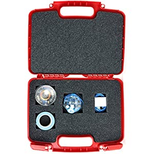 Hard Storage Carrying Case For Sphero SPRK + STEAM Educational Robot - Stores Sphero SPRK, Charger And Accessories, Safely - Red