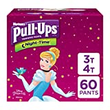 Pull-Ups Night-Time Potty Training Pants for Girls, 3T-4T (32-40 lb.), 60 Count