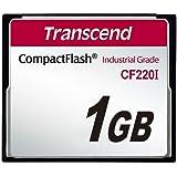 Transcend 1 Go Carte mémoire CompactFlash (CF) 200x TS1GCF200I