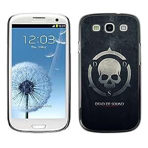 TECHCASE**Cubierta de la caja de protección la piel dura para el ** Samsung Galaxy S3 I9300 ** Dead De Sound DDS