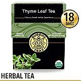 Organic Thyme Leaf Tea, 18 Bleach-Free Tea Bags – Caffeine Free,...