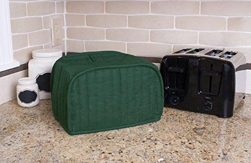 Ritz Four Toaster Cover, Dark Green
