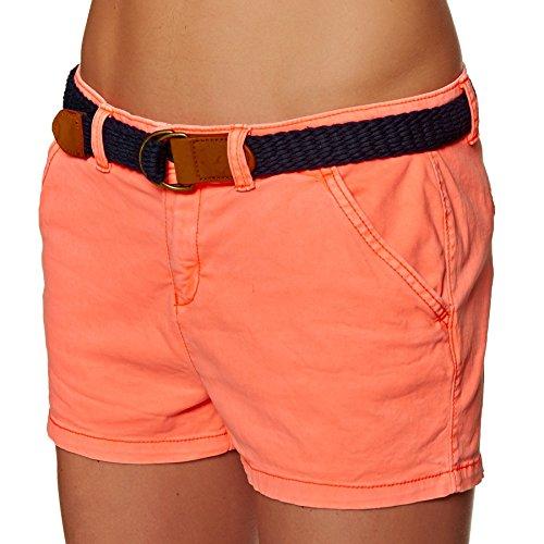 international Short hot Orange Superdry femme coral TvqwxrEv7