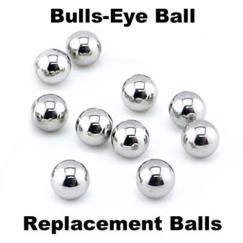 Tiger/Hasbro Bulls-Eye Ball 10 Replacement Steel Balls