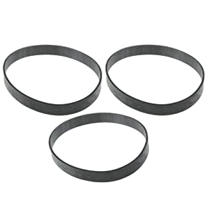 Mumaxun 3pcs Replacement YMH28950 Vacuum Cleaner Belts for Hoover