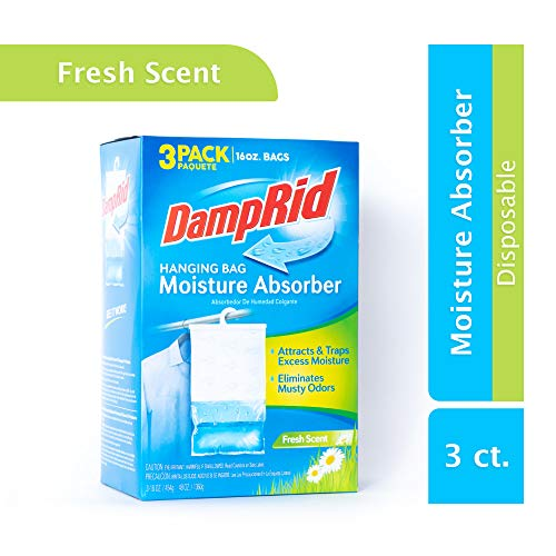 DampRid Moisture Absorber, Fresh Scent (Best Way To Clean Cloth Shoes)
