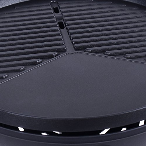 Giantex 1350W Electric BBQ Grill Non-stick w/ 4 Temperature Setting Outdoor Garden Patio Camping by Giantex (Image #7)