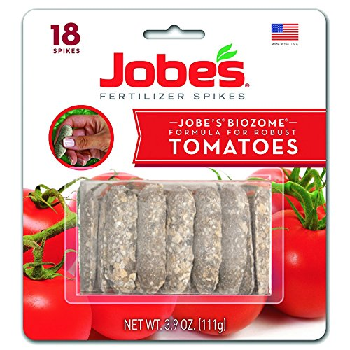 Jobes Fertilizers Plant Food Tomato Fertilizer Spikes 6-18-6