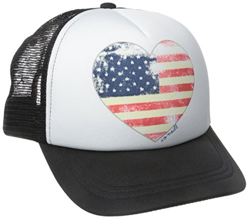 O'Neill Junior's Blissful Trucker Hat, Black, One Size - Oneill Mesh Hat