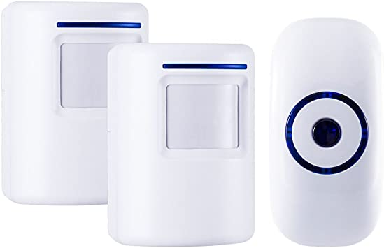 WIRELESS Motion Activated Business Entrance Door Bell Chime Alarm Alert