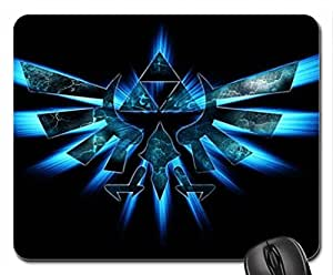Triforce Mouse Pad, Mousepad (10.2 x 8.3 x 0.12 inches)