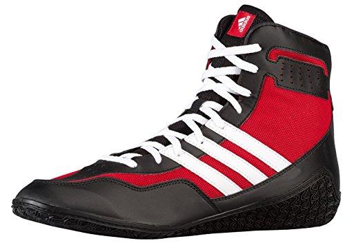 Adidas Prestaties Heren Mat Wizard.3 Worstelen Schoenen Macht Rood / Zwart / Wit
