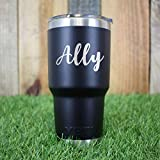 Personalized YETI Tumbler | Multiple Fonts | YETI Gift | Laser Engraved | Custom YETI | Guaranteed Authentic