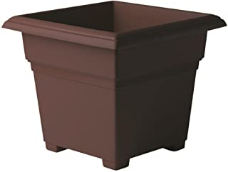 product image for Novelty Countryside Square Tub Planter, Brown, 14-Inch