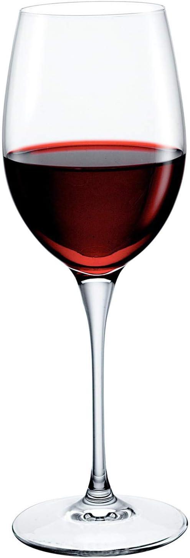 Bormioli Rocco Premium Sauvignon Glass, Set of 4, 12.5 oz, Clear