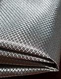 LVFEIER Radiation Protection/Conductive/RFID Shielding/EMF Blocking Fabric Blocking WiFi-Anti-Prevent Electronic Information Leakage (19.719.7 in)