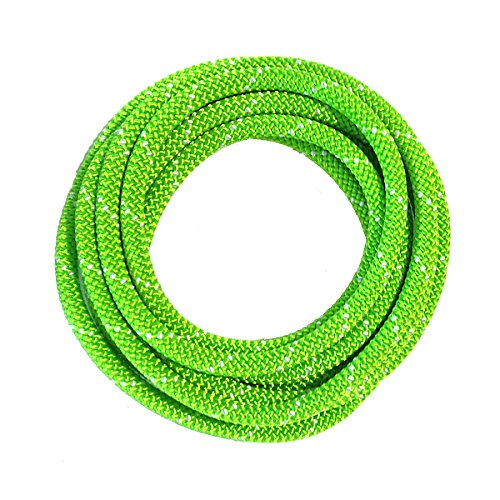 OmniProGear 8mm x 11ft Prusik Cord Lime Made IN USA MBS 16.44kN - Prusik Cord