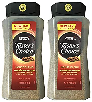 Taster's Choice Original Gourmet Instant Coffee 14 Oz, Pack of 2 by Taster's Choice