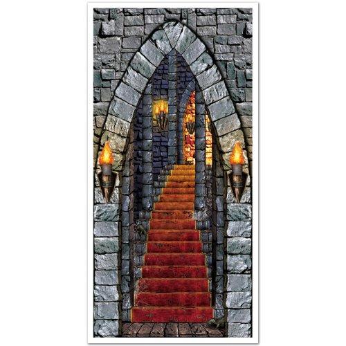 Castle Entrance Door Cover Party Accessory (1 count) -