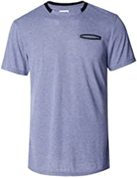Homme Men's T Shirt with Pockets in Front