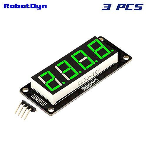 RobotDyn - 3 PCS - 4-Digit LED 0.56