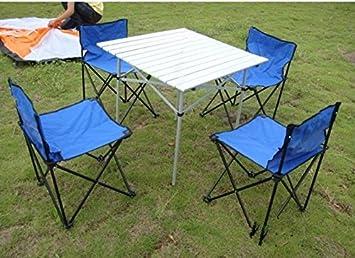 mesas y sillas plegables combinación de mesas y sillas de ...