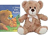 """I Love You Daddy Story Time Bedtime Book and Stuffed 10 """" Teddy Bear"""