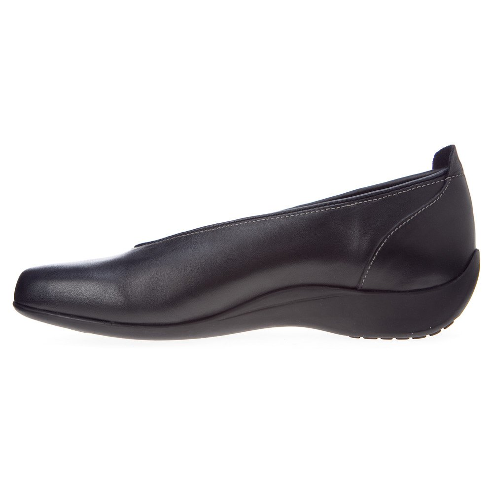 Wolky Comfort Ballet Pumps 00359 Ballet B004D49RAS 43 B(M) EU|Black Smooth Leather
