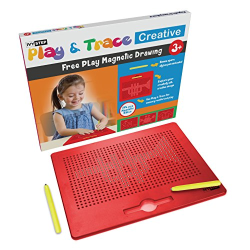 Ivy Step Magnetic Drawing Tablet for Kids with Two Stylus Pens Doodle Balls