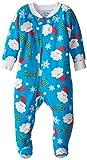 Sara's Prints Baby Boys' Footed Pajamas, Ho Ho Ho, 24 Months