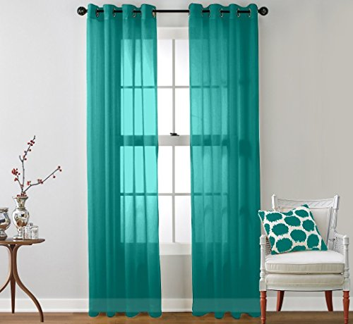 HLC ME Window Curtain Grommet Panels product image