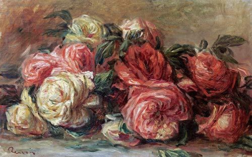 Pierre-Auguste Renoir Discarded Roses 30