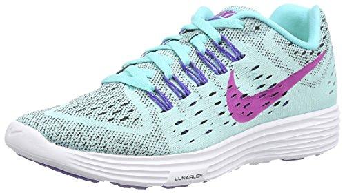 Nike Women's Lunartempo Violett 401 Fuchsiablitz Persisches Weiß Türkis Aquamarin Running Turquoise Light rqrWxU5Adw