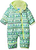 Columbia Unisex Baby Infant Frosty Freeze Bunting, Tippet Zigzag Print, 12/18