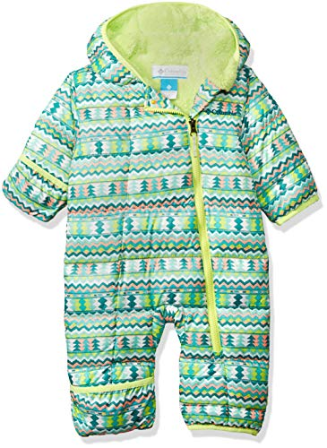 - Columbia Unisex Baby Infant Frosty Freeze Bunting, Tippet Zigzag Print, 12/18