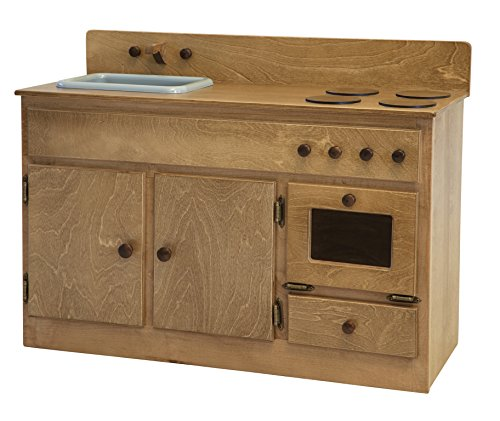 A & L Furniture Sink-Stove Combo, Harvest