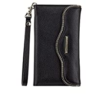 Case Mate Rebecca Minkoff Leather Folio for Samsung Galaxy Note 5 Wristlet Black