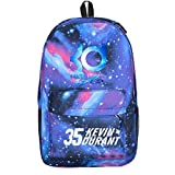Kayisamo Kevin Durant Cosplay Basketball Fans Daypack Backpack School Bag