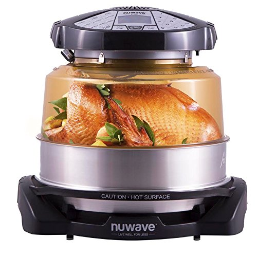 NuWave Elite Oven w/ Extender Ring, Stainless Steel Liner and Cooking Rack