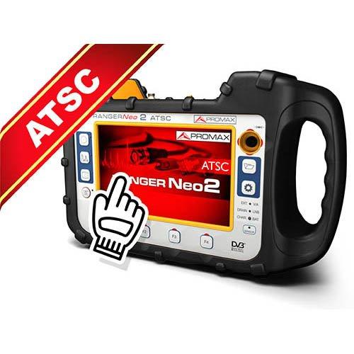 Promax RANGER Neo 2 ATSC Professional TV/Satellite Field Strength Meter and Analyzer for ATSC