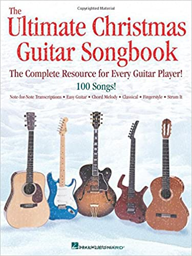 Essential Christmas Songbook: Easy Guitar with Notes & Tab