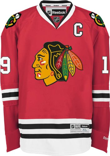 fcd608d7849 Amazon.com : NHL Chicago Blackhawks Jonathan Toews #19 Premier Jersey :  Sports Fan Jerseys : Clothing